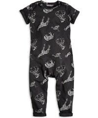Lindex Dětský overal Žirafa - černý