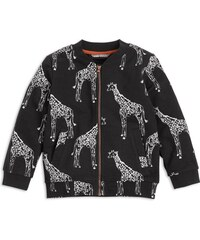 Lindex Dětská bunda Žirafa - černá