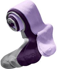 bpc bonprix collection Strumpfhose (3er-Pack) in lila für Mädchen von bonprix