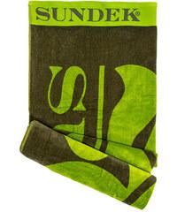 SUNDEK towel with contrast logo