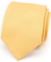 Avantgard Žlutá kravata se vzorem