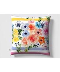 Inspiration par Anne de Solène Inspiration - Taie d'oreiller - multicolore