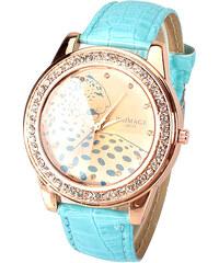 Lesara Armbanduhr Leopard - Blau