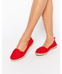 ASOS - JEWEL OF THE NILE - Espadrilles en maille - Rouge