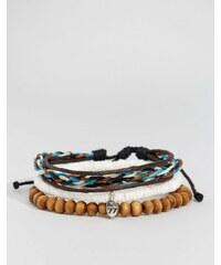 Classics 77 - Lot de bracelets tissés et avec perles - Multi