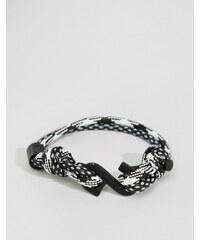 Classics 77 - Bracelet en corde torsadée - Noir