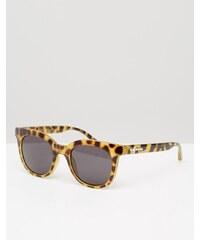 Crap Eyewear - Oversize-Sonnenbrille im Katzenaugenstil mit Dschungel-Schildpattdesign - Braun