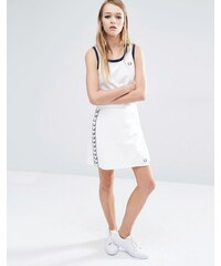 Fred Perry - Archive - Jupe portefeuille - Blanc