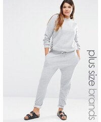 Missguided Plus Track Pants - Gris