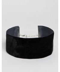 Missguided - Enges Halsband aus Samt - Schwarz