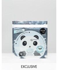 Oh K! - Masque tête de panda en fibres - Clair