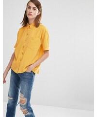 Selected - Nevia - Chemise à manches courtes - Doré