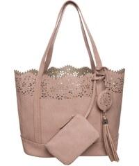 Anna Field Shopping Bag rose