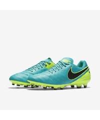 NIKE2 Kopačky Nike Tiempo Genio II FG (kůže) 44 ZELENÁ