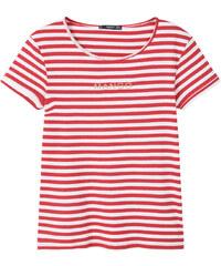 MANGO Gestreiftes Baumwoll-Shirt