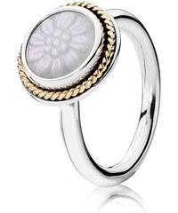 Pandora Kombinierbarer Ring Mutter der Perle Bicolor Lila 190859MOP-48
