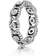 Pandora Kombinierbarer Ring Romantik Silber 190881CZ-48