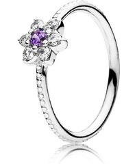 Pandora Ring Vergissmeinnicht Silber Lila 190990ACZ-48