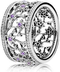 Pandora Ring Vergissmeinnicht Silber Lila 190991ACZ-48