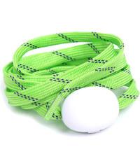 Lesara LED-Schnürsenkel aus Nylon - Grün