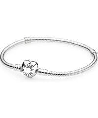 Pandora Armband Moments Herz-Verschluss Silber 590719-16