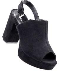 Blink Sandalette mit 10 cm Blockabsatz in schwarz von bonprix