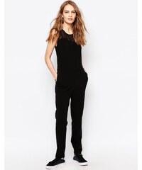 Just Female - Own - Combinaison à empiècement en tulle - Noir
