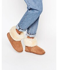 Just SheepSkin - Roll Over - Hausschuhstiefel - Braun