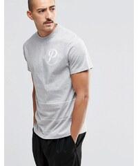 Playground - Circle P - T-Shirt - Grau