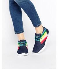 YRU - Beam High Rainbow - Sneakers - Blau