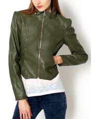 Zelená bunda F202 velikost: M, odstíny barev: zelená