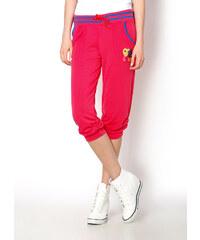 Tepláky pod kolena (5 modelů) velikost: XL, odstíny barev: růžová