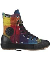 Converse Chuck Taylor All Star Hi-rise Boot Woolrich Hi černá