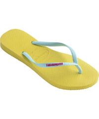 Havaianas Slim Logo žlutá