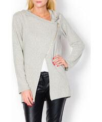 Dámský módní svetr s kapucí (4 modely) velikost: M/L, odstíny barev: béžová