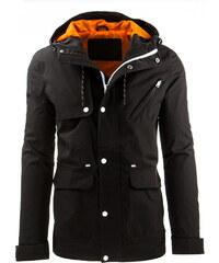 Pánská černá bunda (tx1190) velikost: XXL, odstíny barev: černá