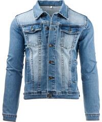 Pánská džínová bunda (tx1222) velikost: S, odstíny barev: modrá