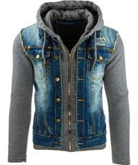 Pánská džínová bunda (tx1244) velikost: L, odstíny barev: modrá