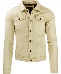 Pánská krémová bunda (tx1250) velikost: XXL, odstíny barev: béžová