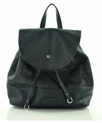 Černý batoh FURRINI (PL27) odstíny barev: černá