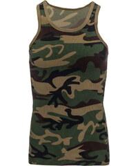 Pánské maskáčové tričko (rx1722) velikost: XXL, odstíny barev: zelená