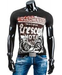Pánské tričko Collow černé - černá