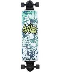 Slick Longboard Drop Down Graffiti SLICK schwarz