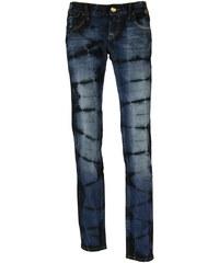 Eighth Sin dámské džíny extravagantní tmavě modré XS