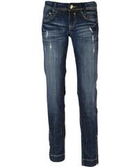 Eighth Sin ighth Sin dámské džíny s oděrkami tmavě modré S