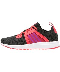 adidas Performance DURAMA Laufschuh Neutral core black/shock purple/ray red