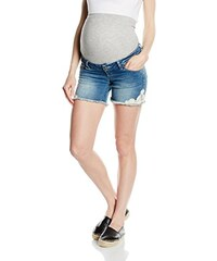MAMALICIOUS Damen Umstands Shorts Honey Lace