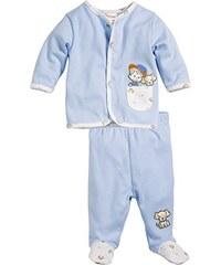 Schnizler Baby - Jungen Jogginganzug Hündchen, 2-teilig Sweatjacke und Strampelhose, Oeko-Tex Standard 100