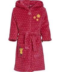 Playshoes Mädchen Bademantel Fleece-bademantel die Maus Pink