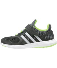 adidas Performance HYPERFAST 2.0 Laufschuh Neutral core black/metallic silver/semi solar green